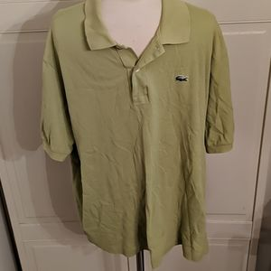Lacoste collar shirt Keylime Green XXL